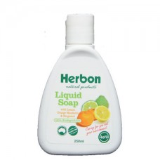 Herbon Liquid Soap with Lemon Orange Mandarin & Bergamot REFILL BOTTLE