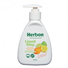 Herbon Liquid Soap with Lemon Orange Mandarin & Bergamot