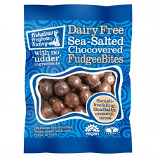 Sea Salted Choc Covered Vanilla Fudgee Bites