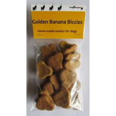 Golden Banana Biccies